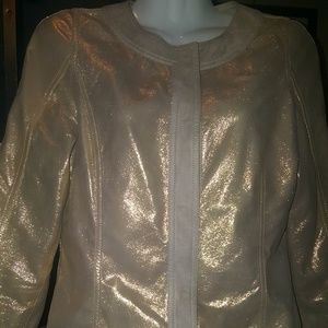 Fendi Leather 3/4th Arm Legnth Leather Jacket